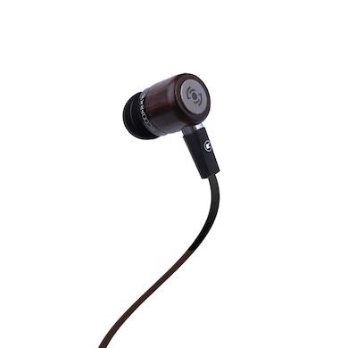 Tekfusion Ecoofers In-Ear Headphone Ebony and Black Price in India