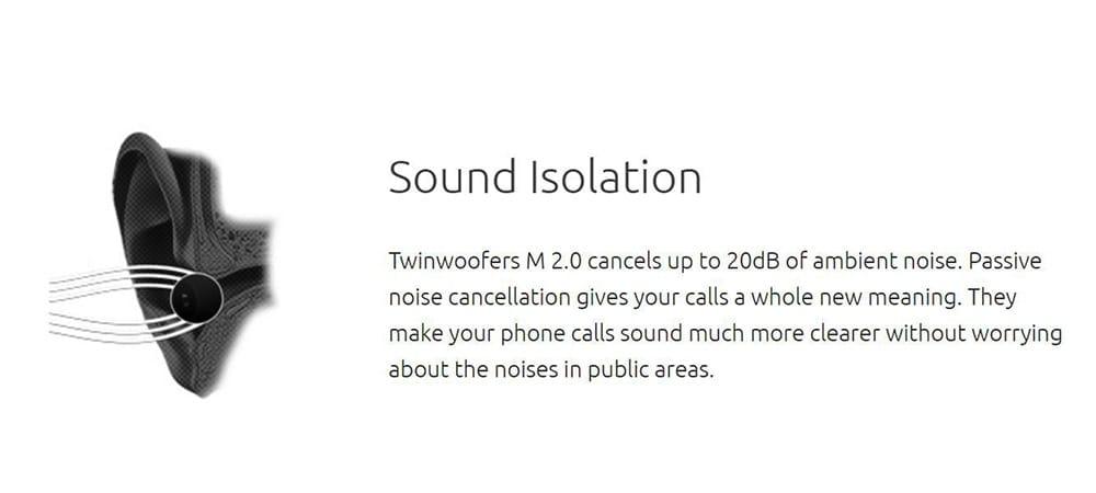 Tekfusion Twinwoofers M 2.0 In-Ear Headset With Mic Photo 11