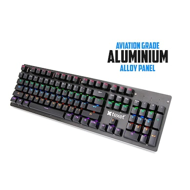 Texet Shift Flamer Real Gaming Keyboard + Rubber Gaming Mouse Pad Combo Multicolor Price in India
