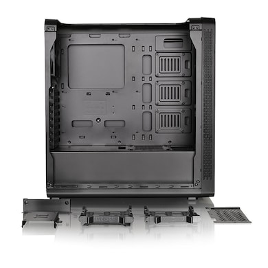 Thermaltake View 27 Gull-Wing Window ATX Mid-Tower Chassis Computer Case Black Price in India