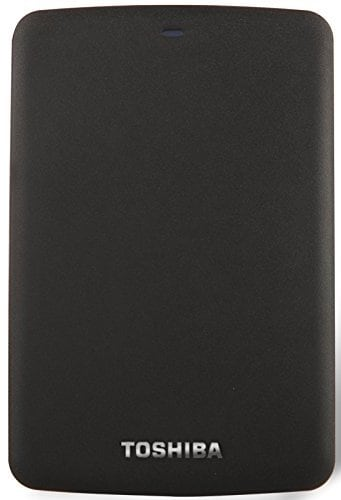 Toshiba Canvio Basic 1 TB External Hard Disk Black Price in India