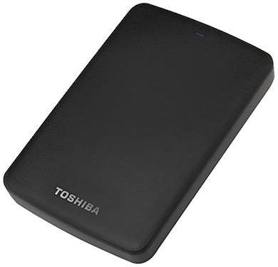 Toshiba Canvio Basic 1 TB External Hard Disk Black Price in India