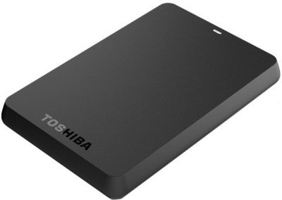 Buy Toshiba Canvio A2 Basics 500 GB Portable External Hard Drive Black online