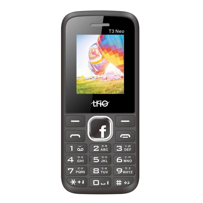 Buy Trio T3 Neo 1 8 Inch Display Cell Phone With Digital