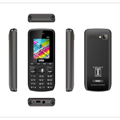 Trio T3 Plus 1.77 Inch Display Cell Phone With Digital Camera (Grey and Black) Price in India