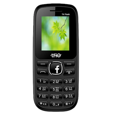 Trio T4 Flash 1.77 Inch Display With Digital Camera (Black and Red) Price in India
