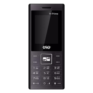 Trio T4 Prime 1.77 Inch Display Cell Phone With Digital Camera (Black) Price in India