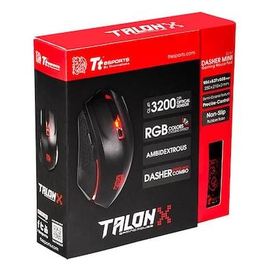 Tt Esports TALON X Gaming Mouse Pad Combo Black Price in India