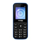 Buy TYMES Y1 Ultra 1.8 Inch Display Cell Phone With Digital Camera Black and Blue Online