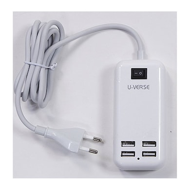 U-Verse U-02 Battery Charger White Price in India