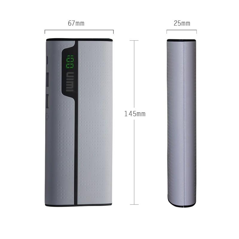 Buy Uimi U2 Power Bank 15600 mAh Grey online