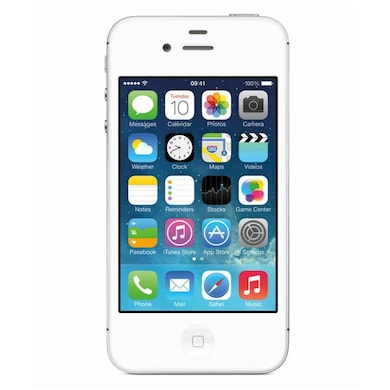 Pre-Owned Apple iPhone 4 Good Condition (White, 512MB RAM) Price in India
