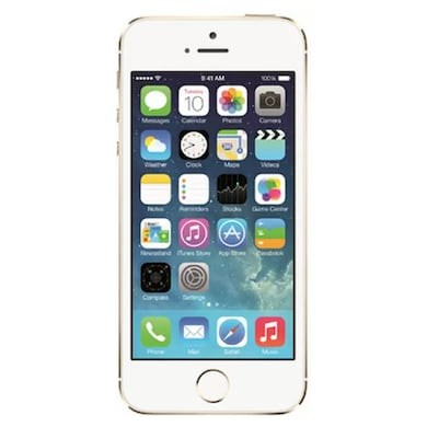 Refurbished Apple iPhone 5s Fingerprint sensor not working 16 GB (Gold, 1GB RAM, 16GB) Price in India
