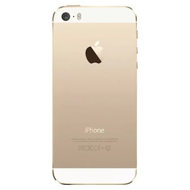 Refurbished Apple iPhone 5s Fingerprint sensor not working, 64 GB (Gold, 1GB RAM, 64GB) Price in India