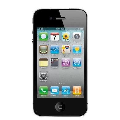 Unboxed Apple iPhone 4s (Black, 512MB RAM, 16GB) Price in India
