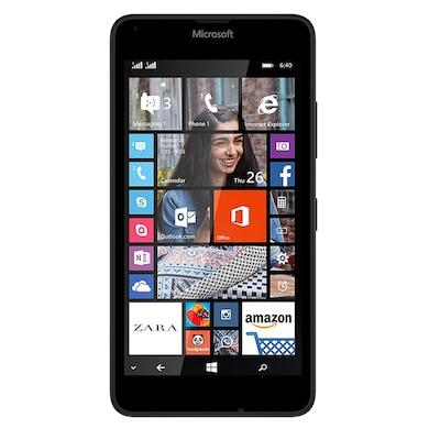 Unboxed Microsoft Lumia 640 Black, 8 GB images, Buy Unboxed Microsoft Lumia 640 Black, 8 GB online at price Rs. 5,299