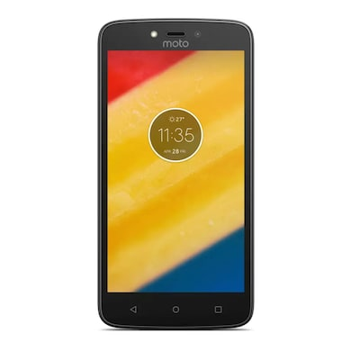 Unboxed Moto C Plus (Starry Black, 2GB RAM, 16GB) Price in India