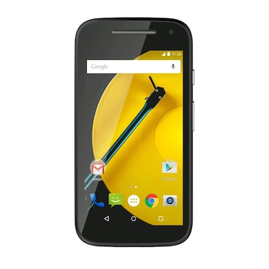 Refurbished Moto E 2nd Gen 3G (Black, 1GB RAM, 8GB) Price in India