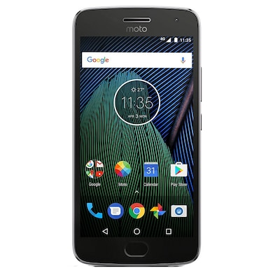 Pre-Owned Moto G5 Plus (Grey, 4GB RAM) Price in India