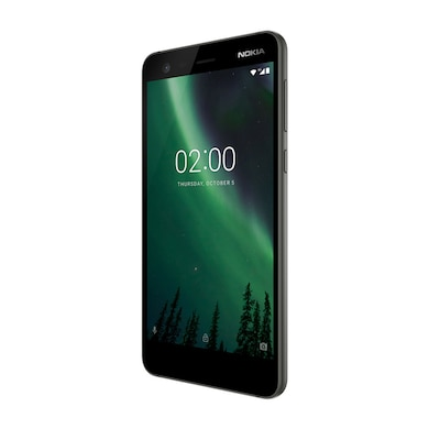 Refurbished Nokia 2 (Pewter and Black, 1GB RAM, 8GB) Price in India