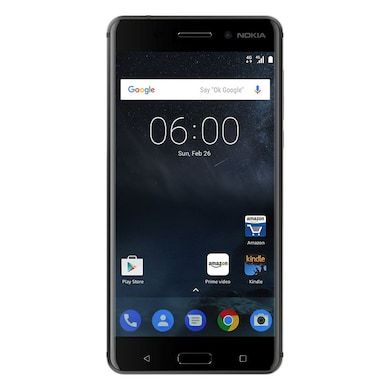 Unboxed Nokia 6 (Matte Black, 3GB RAM, 32GB) Price in India