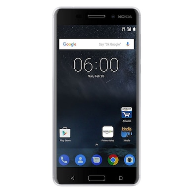 Unboxed Nokia 6 (3 GB RAM, 32GB) Silver images, Buy Unboxed Nokia 6 (3 GB RAM, 32GB) Silver online at price Rs. 8,299