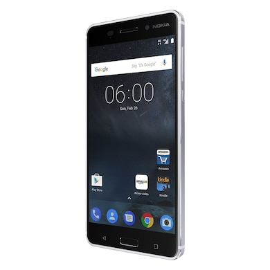 Unboxed Nokia 6 (Silver, 3GB RAM, 32GB) Price in India