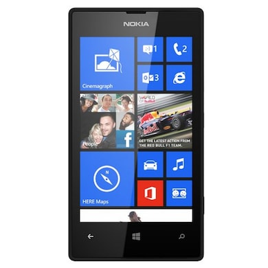 Refurbished Nokia Lumia 520 (Black, 512MB RAM, 4GB) Price in India