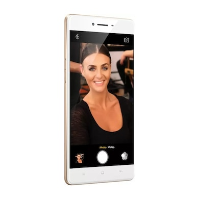 Refurbished Oppo F1 (Gold, 3GB RAM, 16GB) Price in India