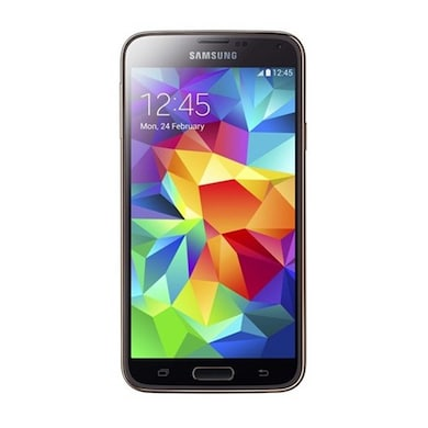Refurbished Samsung Galaxy S5 (Copper Gold, 2GB RAM, 16GB) Price in India