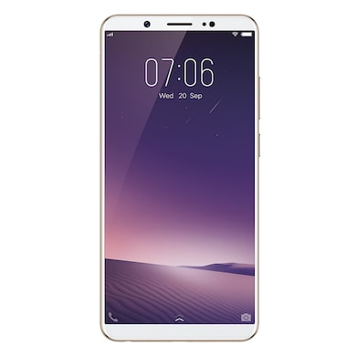 Unboxed Vivo V7+ (4 GB RAM, 64 GB) Champagne Gold images, Buy Unboxed Vivo V7+ (4 GB RAM, 64 GB) Champagne Gold online at price Rs. 14,299