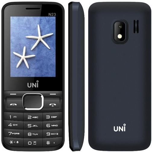 Uni N23 Dual SIM Feature Phone Black, 64 MB images, Buy Uni N23 Dual SIM Feature Phone Black, 64 MB online at price Rs. 750