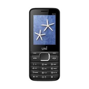 Uni N23 Dual SIM Feature Phone Black, 64 MB