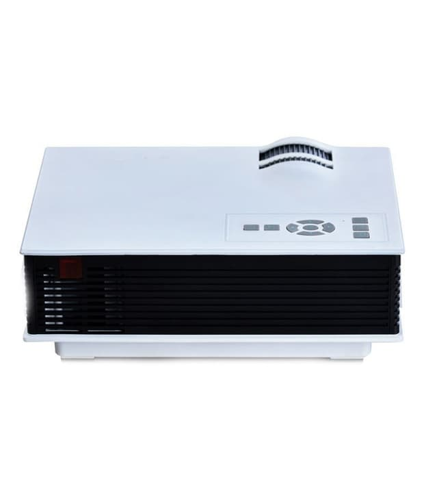 Buy UNIC UC40 High Quality 130 inch Screen LED Home Cinema Projector White online
