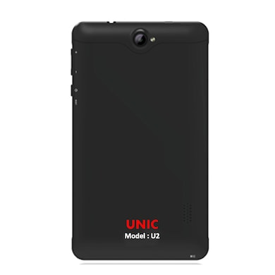 UNIC U2 3G + Wifi Voice Calling Tablet Black, 8GB Price in India