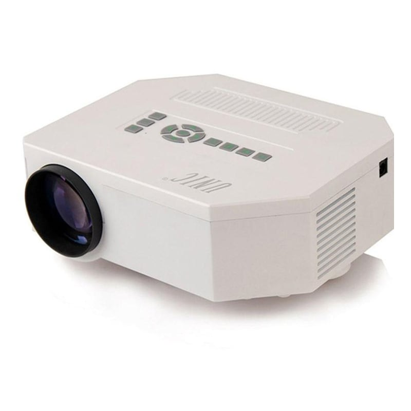 Unic uc30 mini portable led projector with sd av vga usb for Mini usb projector for mobile