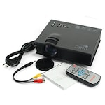 Buy UNIC UC46 High Quality 130 inch Screen LED Home Cinema Projector with WiFi Black Online
