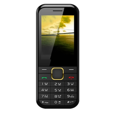 Videocon Bazoomba 6 V2SB Dual SIM (Black and Gold) Price in India
