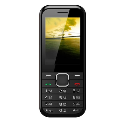 Videocon Bazoomba 6 V2SB Dual SIM (Black and Silver) Price in India