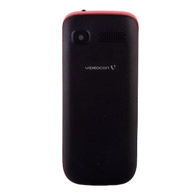Videocon Bazoomba V2DA Dual SIM (Black and Red) Price in India