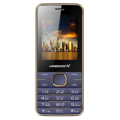 Videocon Bazoomba V2GA Dual SIM (Golden Violet) Price in India