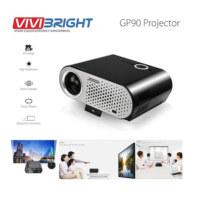 Vivibright GP90 Portable Projector LED LCD 3200 Lumens