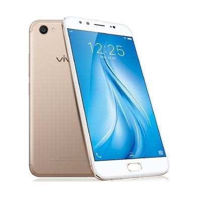 Vivo V5 Plus 4G Gold, 64 GB images, Buy Vivo V5 Plus 4G Gold, 64 GB online at price Rs. 15,699