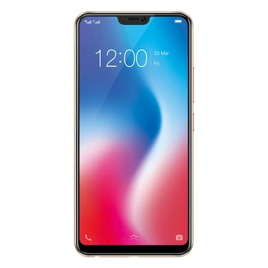 Vivo V9 (4 GB RAM, 64 GB) Gold images, Buy Vivo V9 (4 GB RAM, 64 GB) Gold online at price Rs. 19,705