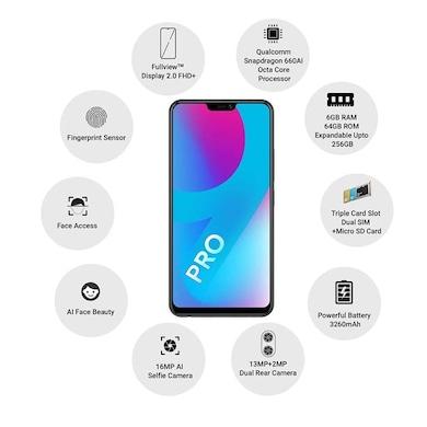 Vivo V9 Pro (Black, 6GB RAM, 64GB) Price in India