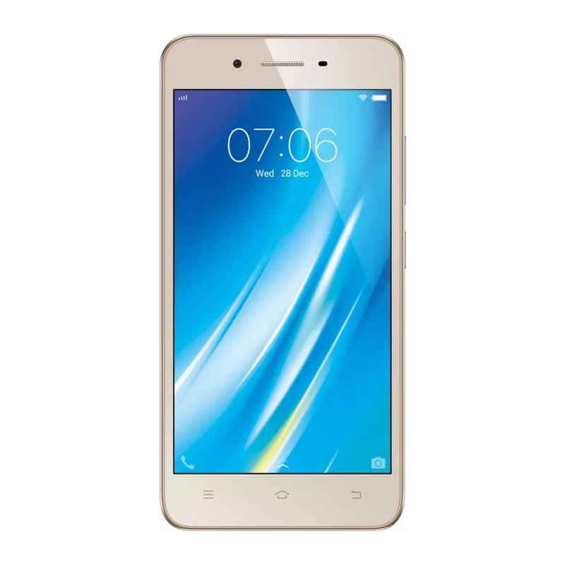 Vivo Y53 Crown Gold, 16 GB images, Buy Vivo Y53 Crown Gold, 16 GB online at price Rs. 8,550