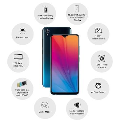 Vivo Y91i (Fusion Black, 2GB RAM, 32GB) Price in India