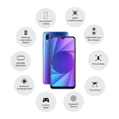Vivo Y95 (Nebula Purple, 4GB RAM, 64GB) Price in India