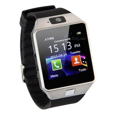 Vizio DZ09 with SIM Smart Watch ( 32GB Expandable, Fitness Tracker, Camera) Black Price in India