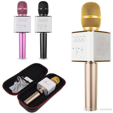 Vizio Karaoke Music Mic Bluetooth Speaker Microphone Assorted Price in India